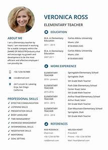 Resume For Elementary Teachers Basic Resume Template 2020 List Of 10 Basic Resume Templates