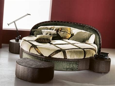 italian  bed   wood home decorating ideas