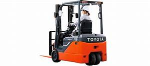 Electric Lift Truck (GENEO 8FBE10 to 8FBE20)   Toyota ...