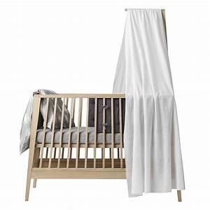 Voile De Lit : voile de lit b b linea blanc leander pour chambre enfant les enfants du design ~ Teatrodelosmanantiales.com Idées de Décoration