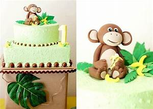 monkey birthday cake template - monkeys bananas first birthday guest feature