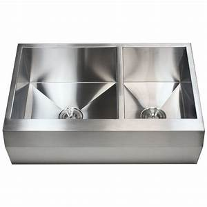 33 inch stainless steel 60 40 double bowl zero radius well for 40 inch farmhouse sink