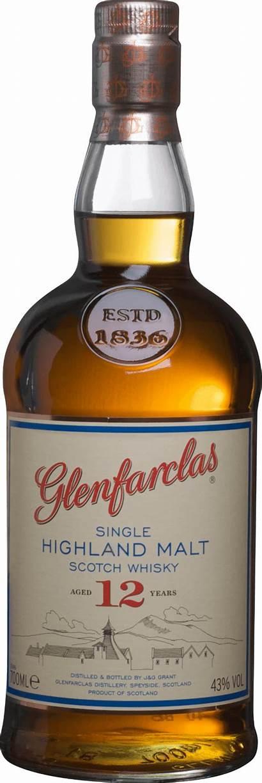Glenfarclas Whisky Malt Single