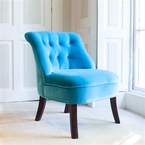 Turquoise Bedroom Chair by Velvet Occasional Tub Chair In Turquoise Homes And