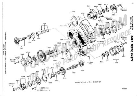 2003 Ford F 150 Transfer Diagram by Ford Truck Technical Drawings And Schematics Section G