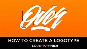 how to create a logotype start to finish