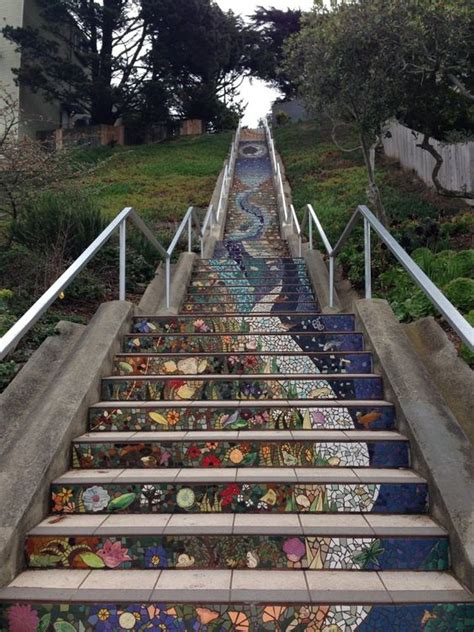 16th Avenue Tiled Steps Project by The 16th Avenue Tiled Steps Project 1700 16th Ave San