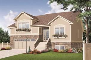 split level designs split level house plans home design 3468
