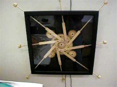 wooden gear kinetic art prototype mechanism  youtube