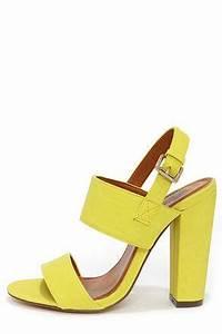 17 Best ideas about Yellow High Heels on Pinterest