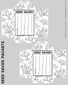 Seed Saver Packet Printables