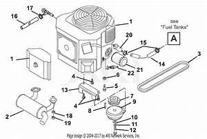 Briggs Stratton Lawn Mower Fuel Pump Diagram