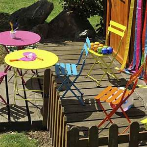 Salon De Jardin Pour Enfant : salon de jardin table et chaise mobilier de jardin ~ Dailycaller-alerts.com Idées de Décoration