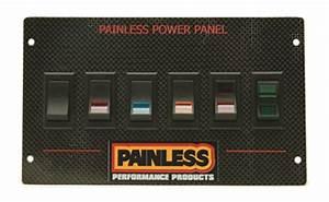 Painless Wiring 50430 Mustang Rocker Switch Panel Carbon