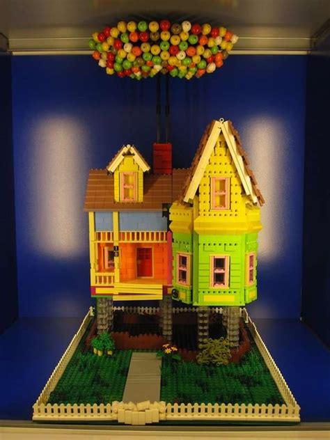 replicated iconic cartoon houses house