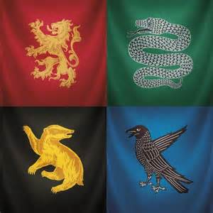 Harry Potter House Banner Paper
