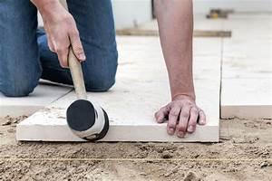 Betonboden Selber Machen : gehwegplatten verlegen schritt f r schritt ~ Michelbontemps.com Haus und Dekorationen