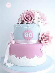 60th Birthday Cake Ideas - Crafty Morning