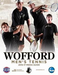 2017 Wofford Men's Tennis Media Guide by Wofford Athletics ...