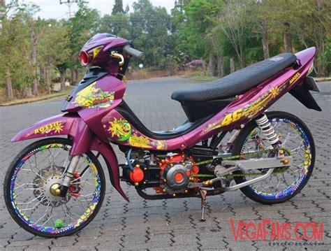 Jupiter Z Modifikasi Warna Merah by Jupiter Z Merah Marun Modif Thailook Style