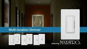 Lutron Maestro Multi Location Switch
