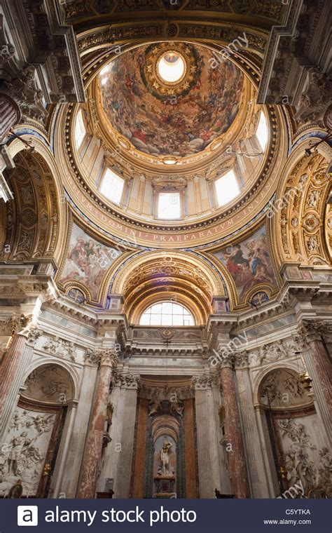 interior  sant agnese  agone church piazza navona