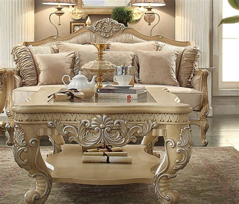 homey design hd  dore wood trim sofa usa furniture