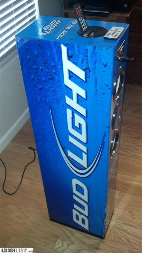 bud light party lights armslist for sale trade bud light party tower