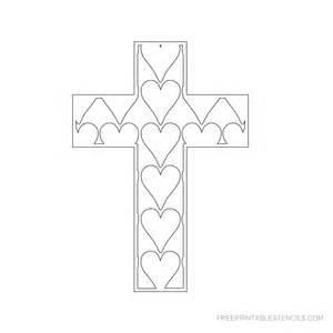 Free Printable Cross Stencils