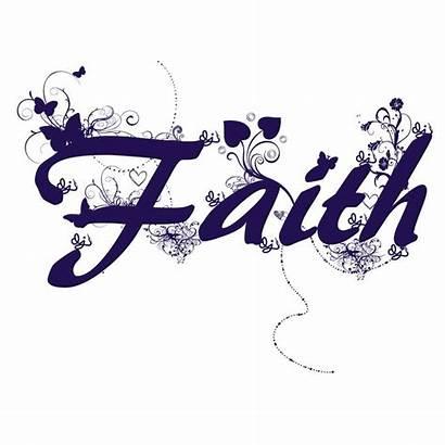 Word Faith Friends Words Clipart Believe Cliparts