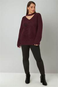 Pinterest App Anmelden : limited collection burgund grober strickpullover mit choker in gro en gr en 44 64 ~ Eleganceandgraceweddings.com Haus und Dekorationen