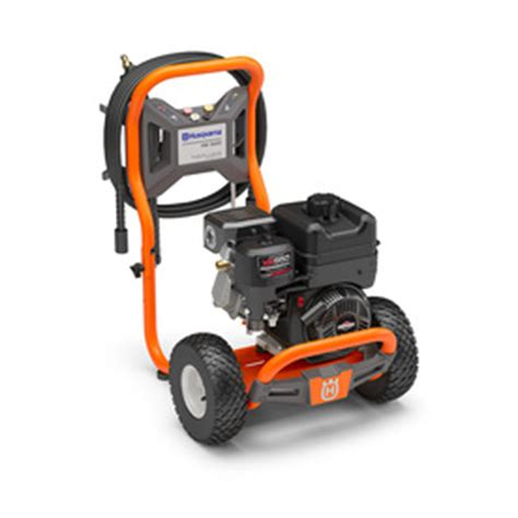 shop husqvarna 3 200 psi 2 7 gpm cold water gas pressure washer carb at lowes