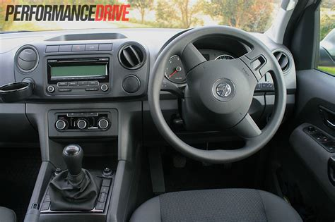 volkswagen amarok trendline interior