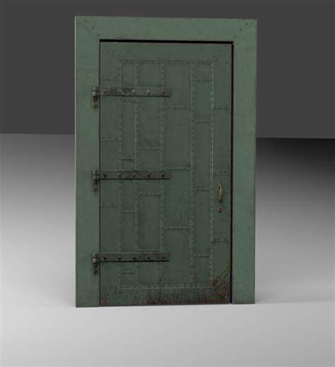 industrial steel doors industrial metal door opengameart org