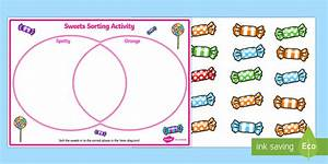 Venn Diagram Sweets Sorting Activity