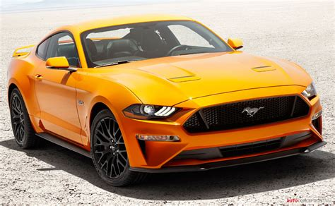 New Ford Mustang 2018 by New 2018 Ford Mustang Revealed Autoconception