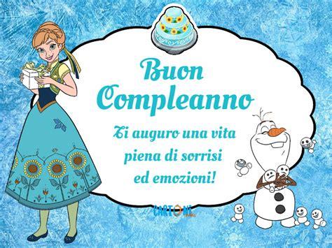 frozen fever buon compleanno cartoni animati