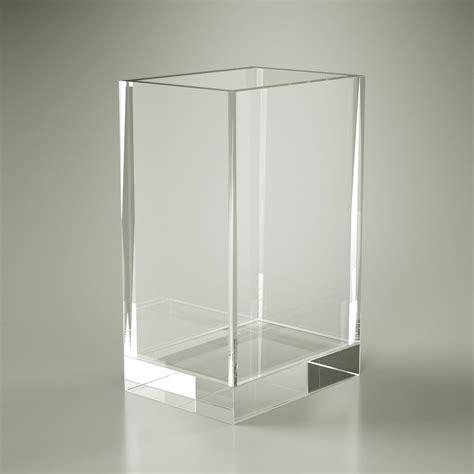 Bicchieri In Plexiglass by Bicchiere Rettangolare Quadrato Accessori Bagno In