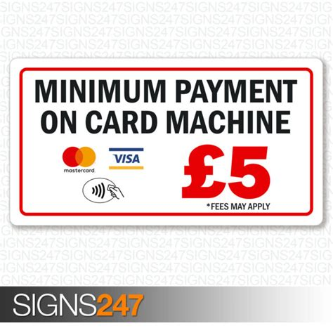 The minimum monthly payment on a credit card is. Minimum Payment Sticker MasterCard VISA Contactless Printed Vinyl 130x70mm for sale online   eBay