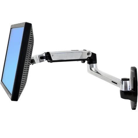 ergotron 45 243 026 lx wall mount monitor arm home