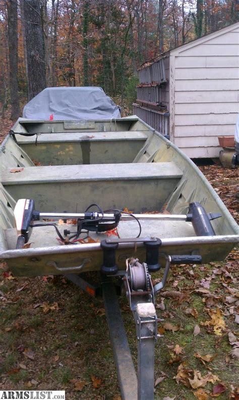 Are Alumacraft Jon Boats Any Good by Armslist For Sale Trade 16ft Alumacraft Jon Boat
