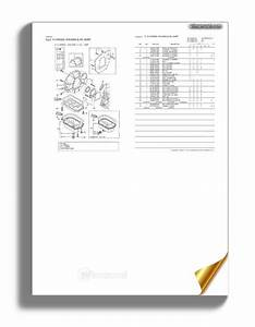 Yanmar 3tne84t G1a Engin Parts Catalog