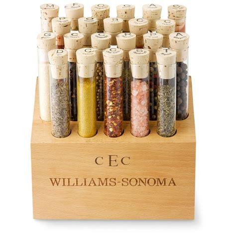 Williams Sonoma Spice Rack by Williams Sonoma 22 Vial Spice Block Set Williams Sonoma