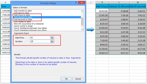 add subtract days months years date excel