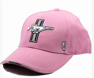 Ford Mustang tri bar ladies hat in pink – The Mustang Trailer