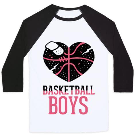 basketball boys baseball tees human