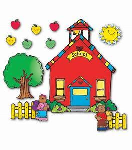 Schoolhouse Bulletin Board Set