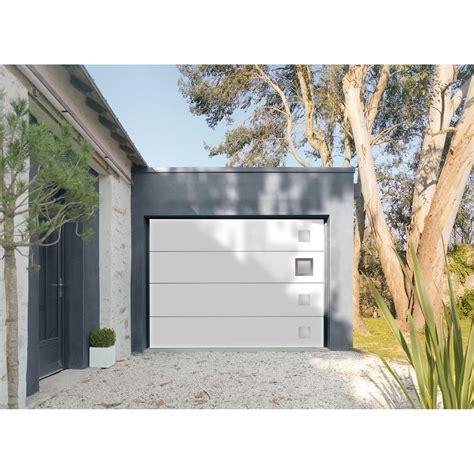 porte garage sectionnelle leroy merlin porte de garage sectionnelle motoris 233 e artens premium h 200 x l 240 cm leroy merlin