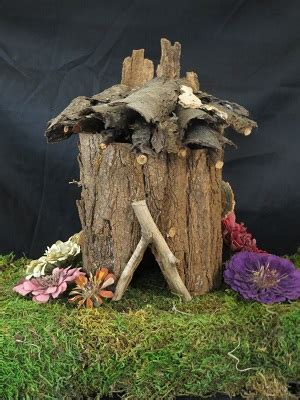 making fairy houses  natural materials adultchild