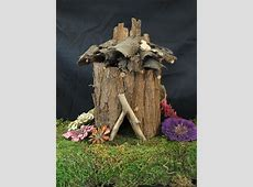 Making Fairy Houses with Natural Materials AdultChild